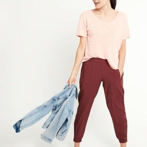 Old Navy- Mid-Rise StretchTech Jogger Pants Size S